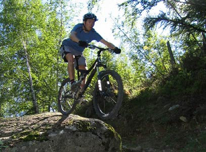 Mountain biking in Knysna's forests